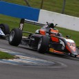 Matheus Leist has secured the BRDC British Formula 3 crown in the final race of the season at Donington Park, where Toby Sowery clinched his second clear win of the day.