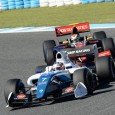 Another flying start sent Egor Orudzhev on his way to victory in the second Formula V8 3.5 race at Jerez ahead of Louis Deletraz, who takes the points lead going to the final round.