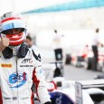 Alex Albon has boosted his chances of snatching the GP3 title from the grasp of Charles Leclerc by taking pole position at the decider in Abu Dhabi, with his rival only fifth.