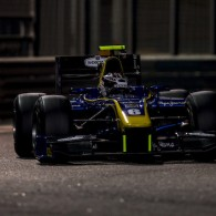 Nicholas Latifi ended the GP2 post-season test by setting the best time of the week in the final session.