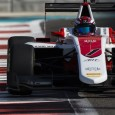 George Russell dominated the final day of the GP3 post-season test in Abu Dhabi as he prepares for his switch to the series as a new Mercedes Formula 1 development driver.