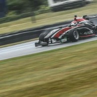Pedro Piquet claimed victory in a wet second Toyota Racing Series race at Teretonga that was twice red-flagged. Piquet got the lead from second on the reverse grid, while polesitter […]