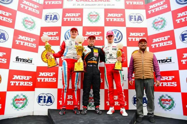 MRF Challenge: Schumacher junior is fastest on first day