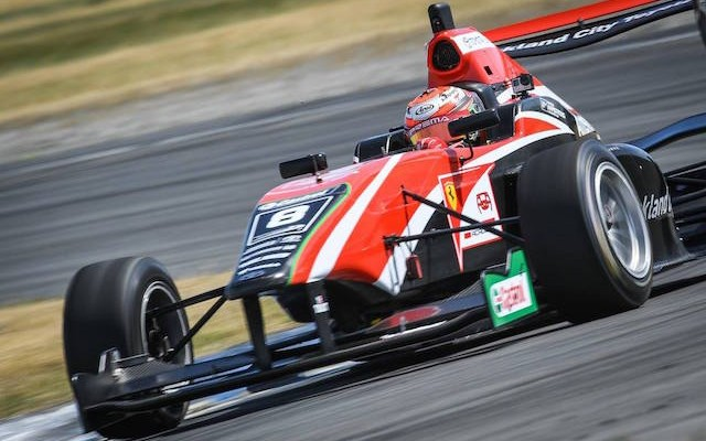 Marcus Armstrong has won his very first race as part of the Ferrari Driver Academy and his Toyota Racing Series debut in the opening race of 2017 at his local Ruapuna circuit.