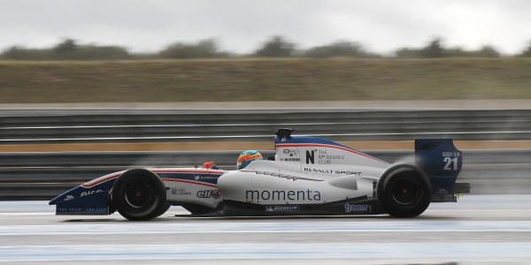 MOTORSPORT - TESTS WORLD SERIES BY RENAULT 2013 - FORMULE RENAULT 3.5 - LE CASTELLET - PAUL RICARD (FRA) - 04 TO 07/03/2013 - PHOTO : GREGORY LENORMAND / DPPI - 21 STEVENS WILL  - (GBR) / P1 MOTORSPORT - ACTION