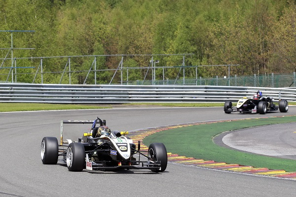 Kirchhofer was there yet again to lead the Lotus charge (Photo: formel3.de)