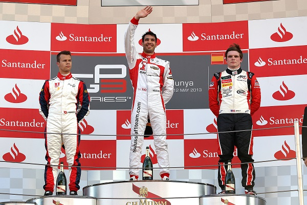 Race one had a rather predictable podium