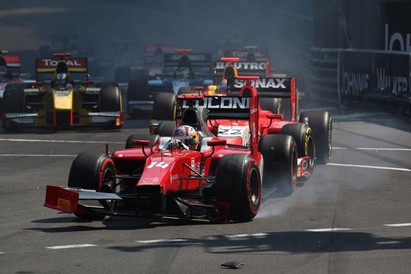 Coletti had a difficult time last year, including in Monaco (Photo: Daniel Kalisz/GP2 Media Service)