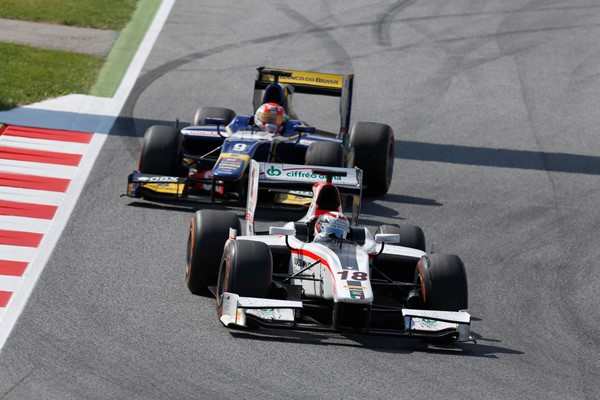 Coletti and Nasr have finished all six races so far this year in the top four (Photo: Alastair Staley/GP2 Series Media Service)