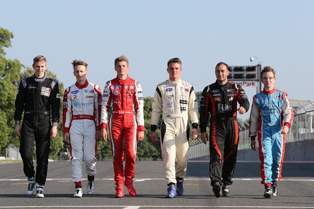 Everyone in the top six could hypothetically lead the series after one more race (Photo: BRDC F4)