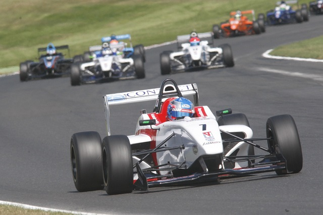 Jake Hughes was the star of the Brands Hatch round (Photo: BRDC F4)