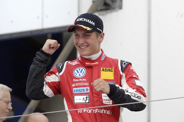 ADAC Formel Masters graduate Jager held on to his first win in the series (Photo: formel3.de)