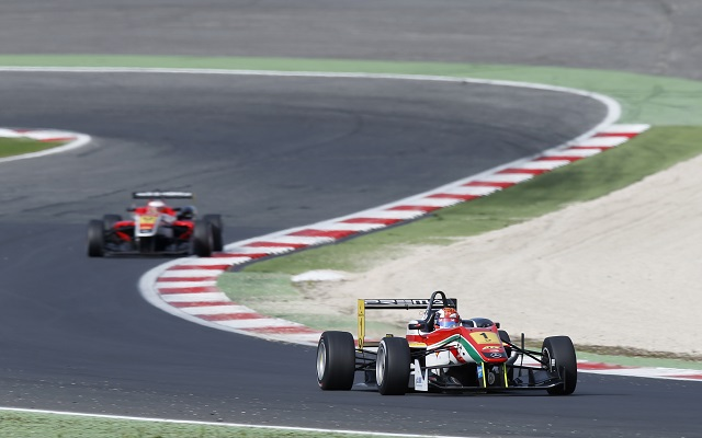 Marciello did all he could to build up a points advantage ahead of the Hockenheim decider (Photo: FIA F3)