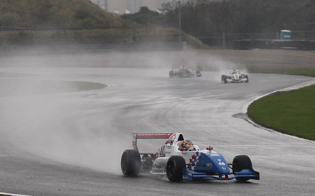 Rowland was the absolute class of the field in difficult weather conditions (Photo: Chris Schotanus)