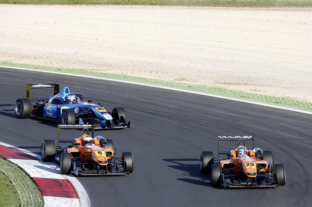 Rosenqvist pulled off an impressive amount of overtakes from the back of the grid (Photo: FIA F3)