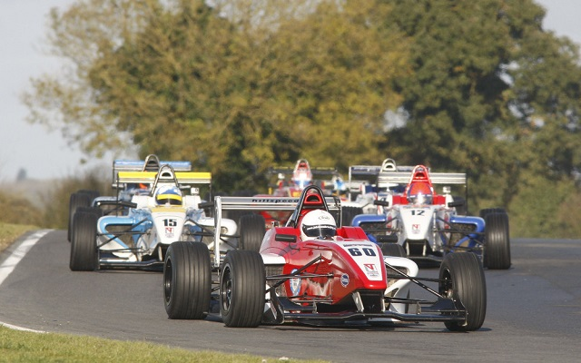 Just like the main championship, the BRDC F4 Winter Series is looking to have a very close title fight (Photo: BRDC F4)