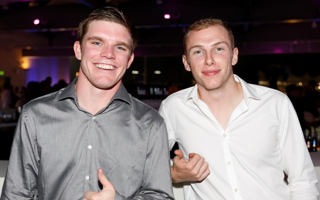 Conor Daly and Jon Lancaster