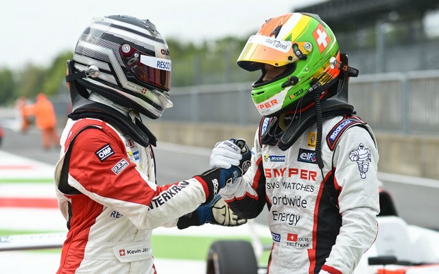 Kevin Jorg and compatriot/squadmate Louis Deletraz shared wins in the NEC opener at Monza (Photo: FR2.0 NEC)