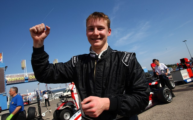 Kevin's debut season in Formula Abarth yielded six podiums and sixth place in the standings (Photo: ACI Sport)