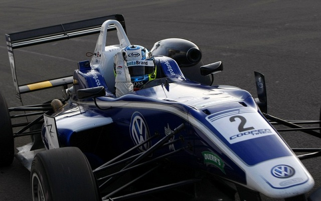 King sealed last year's British F3 title with a race to spare (Photo: British F3 International Series)