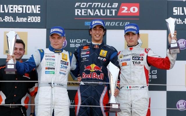 Ricciardo and Bottas