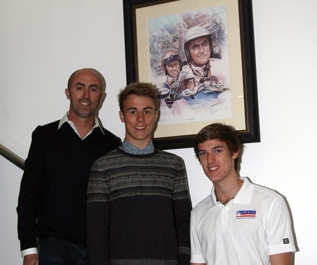 David Brabham, Sam Brabham, Matthew Braham