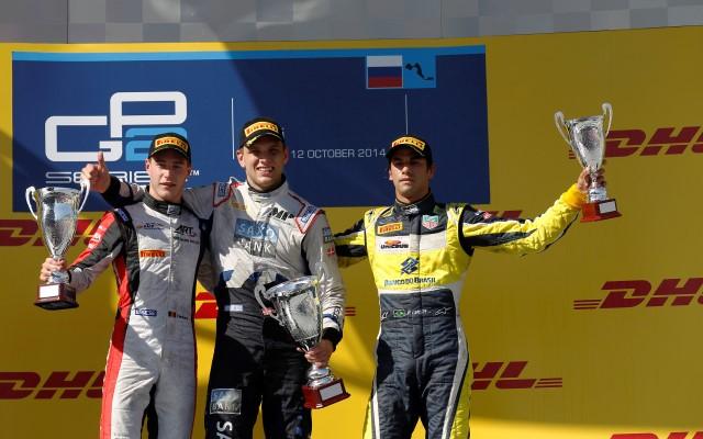 GP2 podium
