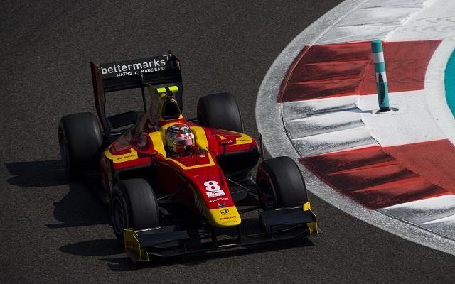 2015 GP2 Series Test 3. Yas Marina Circuit, Abu Dhabi, United Arab Emirates. Friday 4 December 2015. Norman Nato (FRA, Racing Engineering)  Photo: Sam Bloxham/GP2 Series Media Service. ref: Digital Image _SBL3177