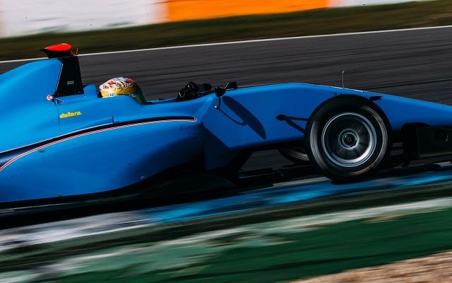 Photo: Malclom Griffiths/GP3 Series Media Service.